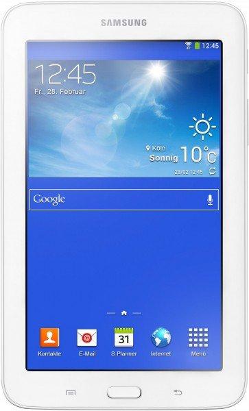 Samsung Galaxy Tab 3 7.0 Lite 8GB WiFi weiß für 92,89€ bei notebooksbilliger.de