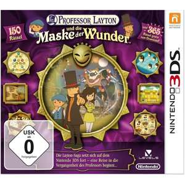 Professor Layton und die Maske der Wunder für Nintendo 3DS