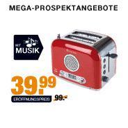 Radio Toaster im Megastore bei Segmüller
