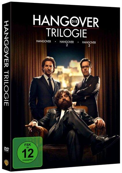 [mediamarkt.de Räumungsverkauf ] Die Hangover Trilogie [3 DVDs] für 10 € ohne Vsk