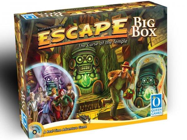 """Escape BIG BOX [Queen Games] + Spiel """"Mammut"""": im """"Flash Sale"""" 15$ günstiger am Wochenende [Kickstarter]"""