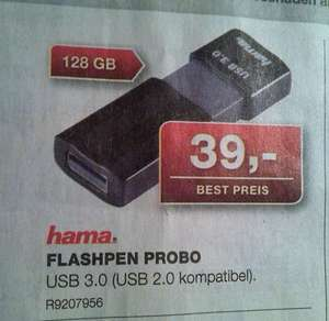 [Staples offline] Hama Flashpen Probo 128GB USB3 für 39€
