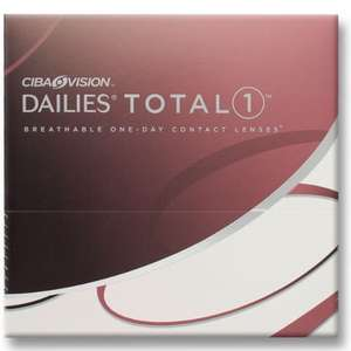 Ciba Vision Dailies Total-1 Tages-Kontaktlinsen 90 Stk. [Preisfehler 39,40€ statt 78€]