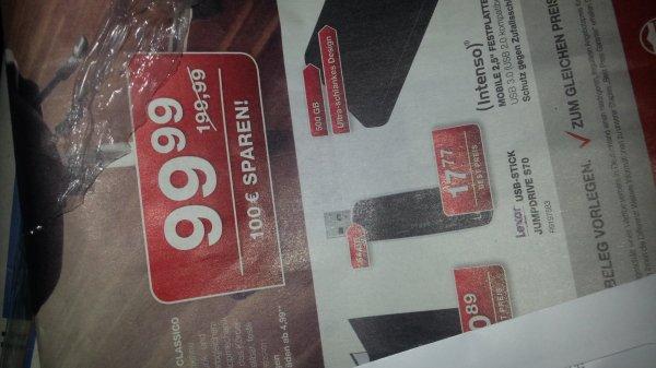 (Lokal in allen Staples) 64GB USB Stick Lexar Jumpdrive S70