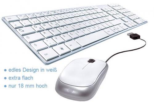 BAZOO iBOARD weiß mit optischer Mouse für nur 13,99€ inkl. Versand