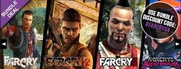 Far Cry Quadrilogy Pack @ FunStock Digital