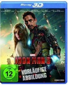 [AMAZON] Iron Man 3 (inkl. 2D-Version) [3D Blu-ray] für nur 13,99 Euro bei Prime inkl. Versand (sonst 20 €)