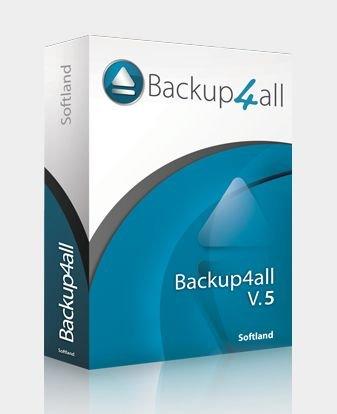 Kostenloser Lizenz Key für Backup4all Lite 5 von Softland