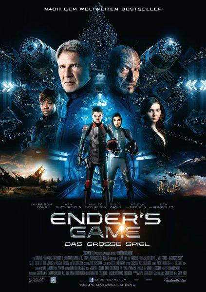 [PSN] Ender's Game - Das große Spiel mit Harrison Ford, Ben Kingsley leihen für 0,99€ (SD) oder 1,99€ (HD)