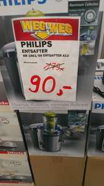 Philips hr 1861 Entsafter Media Markt (Local münchen)
