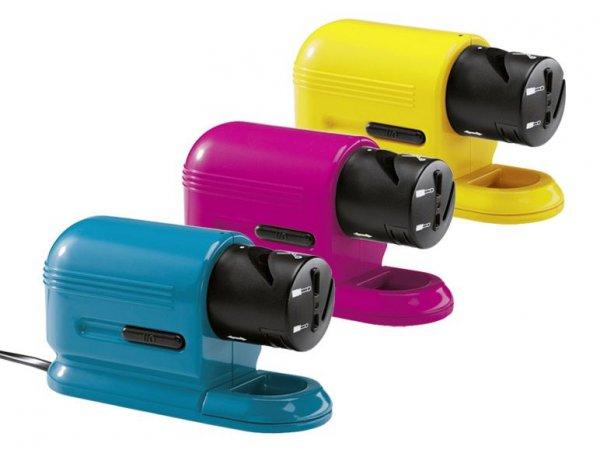 [Lidl OFFLINE] Ab Mi.30.04: Silvercrest elektrischer Allesschärfer in 3 versch.Farben für 6,99€