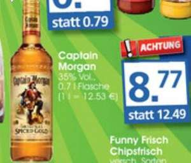 [Minipreis] Bundesweit Captain Morgan 8,77 €