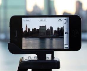 iPhone 5/s Stativadapter für Zeitrafferaufnahmen und verwackelungsfreie Aufnahmen (glif Alternative) Sidekic