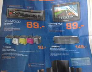 Bose 60933  Soundlink Mini 149€, Technaxx Speaker 10€ Lokal?