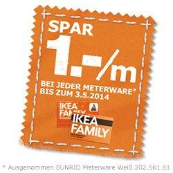 [Ikea Dresden, evtl. bundesweit] Bomull Stoff 1€/m, alle anderen 1€/m billiger