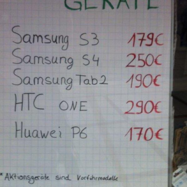 Tolle Smartphones Tolle Preise lokal Garbsen