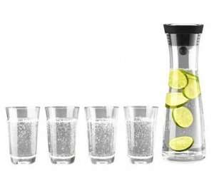 [GALERIA KAUFHOF] WMF Basic Wasserkaraffe 1 l + 4 Gläser 0,25 l für 26,95 € inkl. Versand (sonst ca. 39 €)