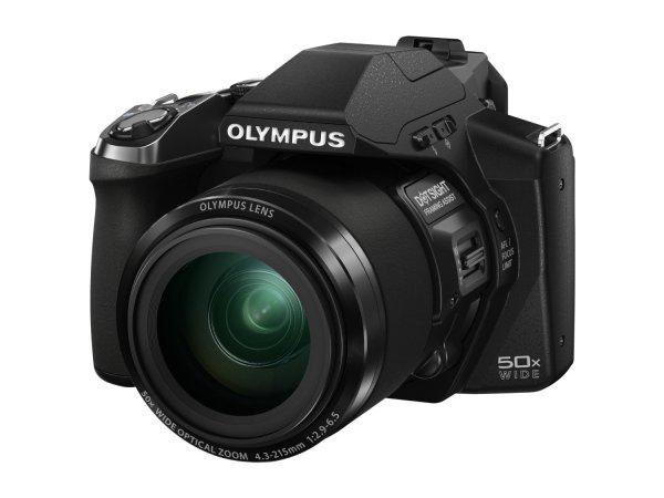 Olympus SP-100 EE Digitalkamera (16 Megapixel CMOS-Sensor, 50-fach opt. Zoom, Full-HD Video) inkl. Sucher, Punktvisier schwarz für 356€ @Amazon.co.uk