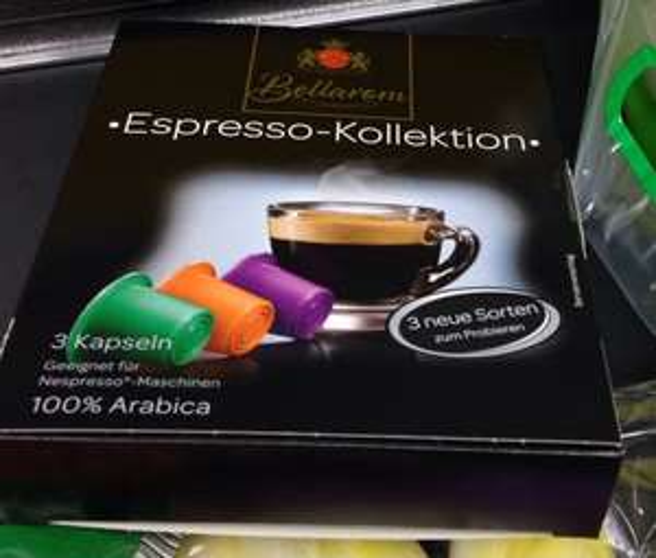 Neue Lidl Nespresso Kapseln 20 Cent/ Kapsel ( neue sorten - toller Geschmack )