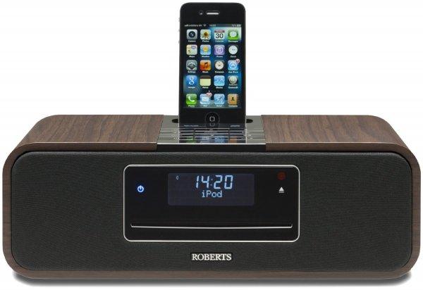 Roberts Sound 100 DAB+ Soundsystem mit CD Player und iPod Dock Holzoptik für 219€ @Amazon.co.uk