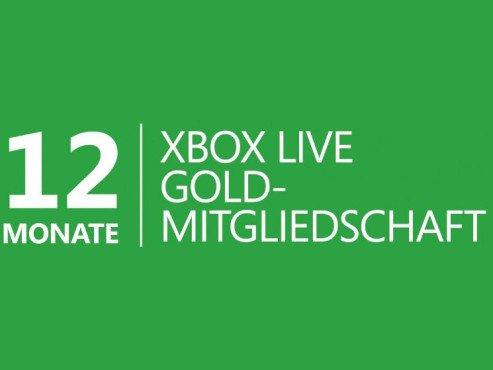Xbox Live Gold Mitgliedschaft 12 Monate für 27,81€ [Online Code]