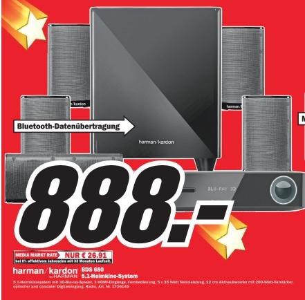 Harman Kardon BDS 680 für 888€ bei Media Markt Bruchsal .Idealo 1255€