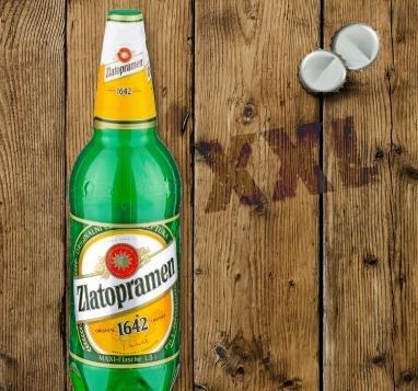 ZLATOPRAMEN Bier Maxi-Flasche 1,5 Liter für 1,11€ bei Penny nur diese Woche.