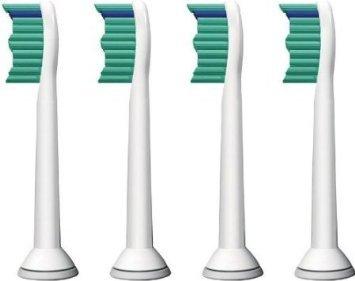 ASL© 4 Stück ERSATZ kompatible Aufsteckbürsten Ersatzbürsten für Philips Sonicare HX6014, Kompatible für FlexCare+-, FlexCare- und HealthyWhite Standard kompatibel, Gute Qualität.