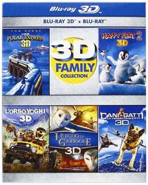 3D Family Collection (3D+2D) [Blu-ray] für 45€ @Amazon.es
