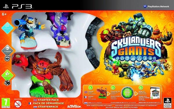 Skylanders: Giants - Starter Pack (Xbox 360/PS3) für 18,38€ @Amazon.co.uk