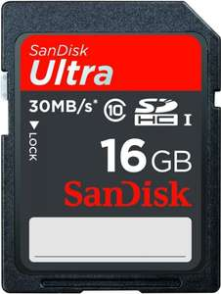 Sandisk Ultra SDHC 16GB Class 10 UHS-I für 8 € inkl. Vsk.