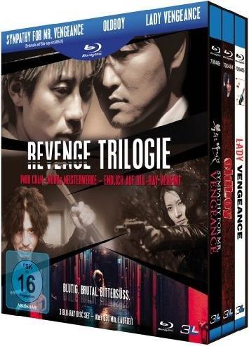 (AmazonPrime) Revenge Trilogie: Sympathy for Mr. Vengeance, Oldboy & Lady Vengeance (3 Blu-rays)