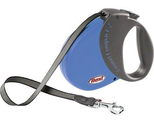 Flexi Comfort Compact 2 mit Softgriff bis 35 kg, 5 m, blau / Hornbach HH