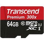 Otto.de: Transcend Premium Class 10 microSDXC 64GB mit SD-Adapter für 33,90€