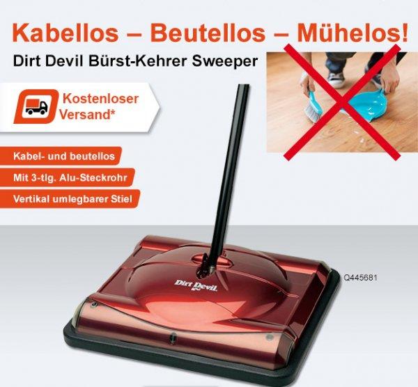 Dirt Devil Bürst-Kehrer Sweeper M010 für 9,99€