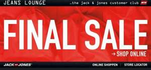 Jack&Jones Final Sale Kapuzen-Sweatshirts ab 8,99+5,95€ Versand