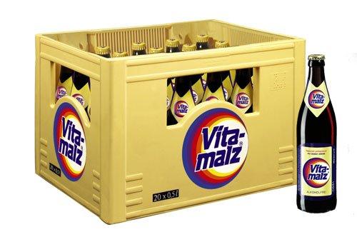 Hol' Ab Getränkemarkt: Vita Malz Kasten 20 x 0,5 Liter oder 24 x 0,33 Liter nur 6,99 Euro