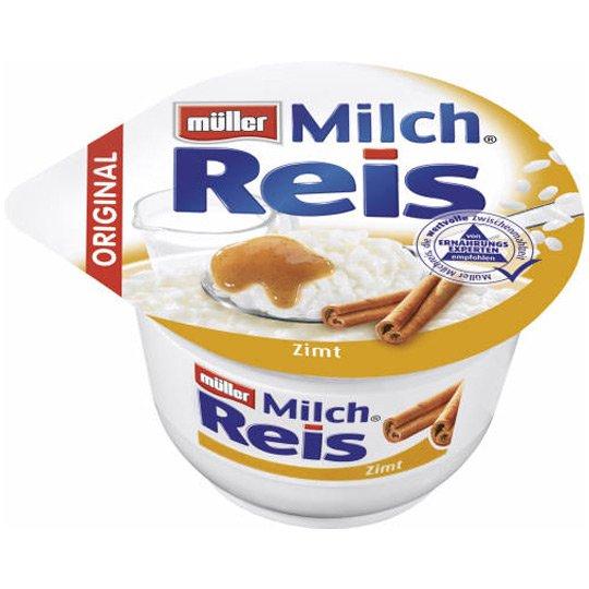 real,- : Nur am Mittwoch 30.04.: Müller Milchreis für 0,29€