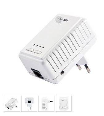 Allnet ALL1682511 500Mbit HomePlug AV Powerline / Wireless N Adapter @NBB 25 €
