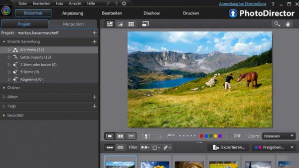 Cyberlink PhotoDirector 4 - kostenlose Vollversion für Windows und Mac zum Download