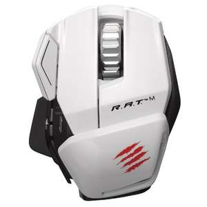 Mad Catz R.A.T.M Wireless Gaming Mouse weiß für 59,90€ @zackzack