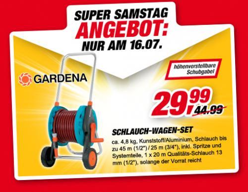 TOOM Baumarkt - Gardena Schlauchwagenset statt 44.99 für 29,99 - nur Samstag