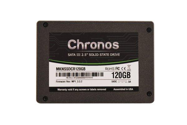 """Mushkin™ - 120GB Solid State Drive """"Chronos (MKNSSDCR120GB)"""" (SATA 6GB/s,inkl. 3.5"""" Einbaurahmen) für €49,85 [@MeinPaket.de]"""