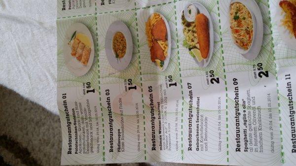 Mömax Restaurant Gutscheine: Wiener Schnitzel mit Pommes für 1,50€
