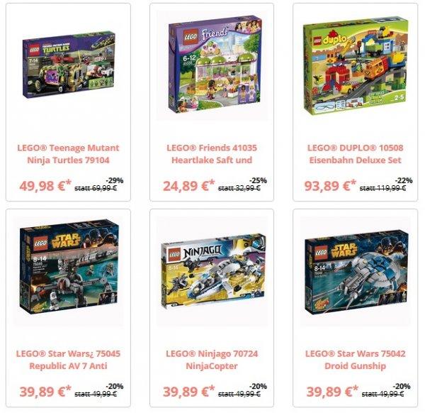 Jede Menge stark Reduzierte Lego Artikel bei bricksale.de
