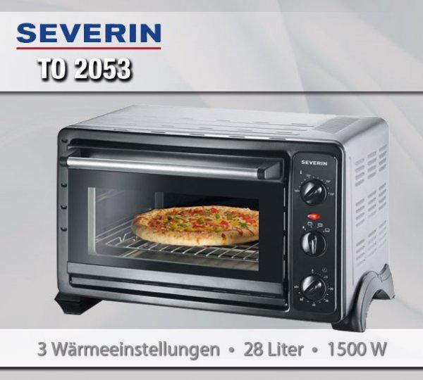 Severin TO 2053 Back- und Toastofen 28l @Ebay 49.99€