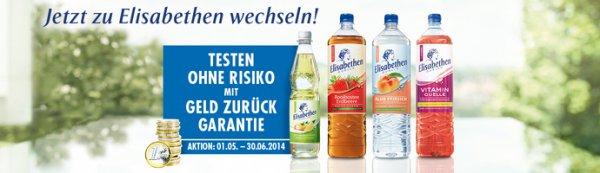 Gratis testen Elisabethen Quelle Produkte bis 12 Flaschen (GzG)