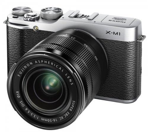 [amazon.uk] Fujifilm X-M1 kompakte Systemkamera (16 Megapixel, 7,6 cm (3 Zoll) LCD-Display, Full HD, WiFi) inkl. XC 16 - 50mm F3.5-5.6 OIS Objektiv silber inkl. Vsk für ca. 488 €