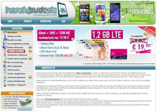 Allnet-Flat im Telekom-Netz mit 1,2 GB mit LTE und SMS-Flat für 19,90 Euro monatlich