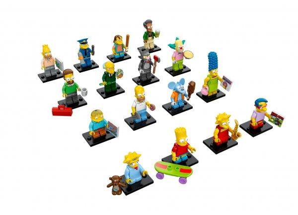 [Kaisers] Lego Minifiguren - The Simpsons Set